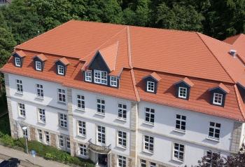 Meyer-Holsen Denkmalschutz Dachziegel Biber naturrot