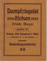 Dampfziegelei Holsen Friedr. Meyer