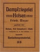 Dampfziegelei Holsen Friedr. Meyer