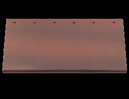 Meyer-Holsen Fassadenkeramik Vertico braunrot