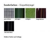 Sonderfarben für den Doppelfalzziegel